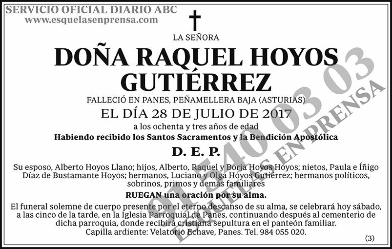 Raquel Hoyos Gutiérrez